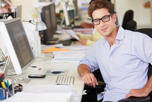 Inhalt des Artikels sind Tipps fürs Wohlfühlen im Büro.