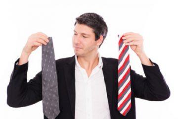 Die Wahl der richtigen Krawatte